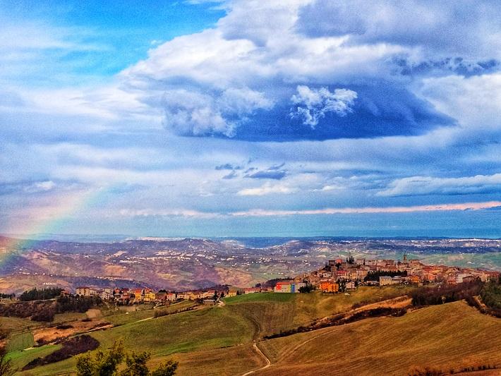 torricella e arcobaleno